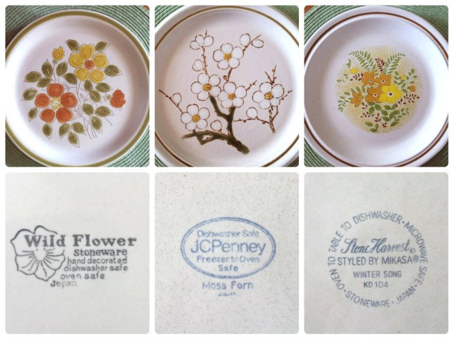 Love my vintage dishes!